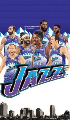Jazz Basketball, Basketball Legends, Basketball Players, Jazz Players, Nba Players, Karl Malone, Donovan Mitchell, Football Memes, Utah Jazz