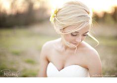 Bride in a field (Millie Holloman)