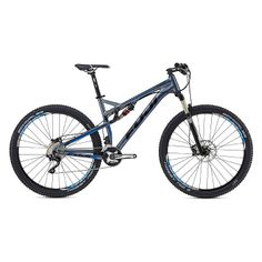 Fuji Outland 1.3 Full Suspension 29er Mountain Bike $2499.99 - Fuji Outland 29er Bike 1.3 is an all mountain rig, ready for smooth XC ripping and blasting through technical sections. With its 125mm of efficient FSR suspension climbing and descending will be effecient - #FujiBike #Outland #XCBike #MountainBike #XC #ad