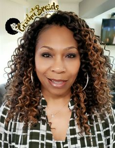 Crochet Braids by Twana is a hair styling service in Fredericksburg, Virginia. Crochet Braids are hair extensions added to a cornrow base with a latch hook. Braided Hairstyles Updo, Crochet Braids Hairstyles, Teen Hairstyles, Black Women Hairstyles, Fancy Hairstyles, Hairstyles Videos, Updo Hairstyle, Wedding Hairstyles, Curly Crochet Hair Styles