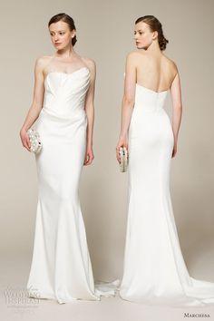 Marchesa Bridal Spring 2013 Wedding Dresses | Wedding Inspirasi