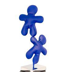 #sculpture Petits bonhommes Smurfs, Sculpture, Fictional Characters, Color Pop, Persona, Sculptures, Sculpting, Fantasy Characters, Statue