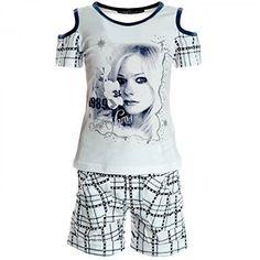 #Kinder #Mädchen #Freizeit #Kurzarm #Shirt #Jogging #Hose #Outfit 2tl #Set…