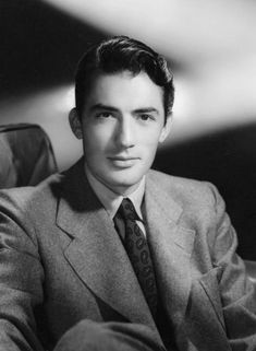 Gregory Peck, 1944, his first year in Hollywood