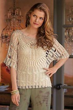 Catalog Spree: Crochet Top and Cami - Soft Surroundings