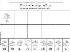 math worksheet : buggy friends count by ten free printable math worksheet  kids  : Counting By Tens Worksheets Kindergarten