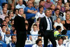 Jose Mourinho. Chelsea 2-1 Aston Villa. Premier League. Wednesday, August 21, 2013.