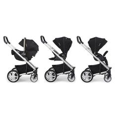 Nuna MIXX Stroller -Caviar Now available at Cute as a Button Baby Boutique!