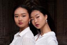 Tag your sister ❤️ When you have a sister, you'll never truly forget the past. She is like a best friend you can't get rid of, who is happy to remind you of all your stupid mistakes. But in your heart you know that whatever you do, she will always be there. Here the girls are wearing our matching mid-length HAEUN earrings in two different colors from our Romantics collection. . . . . . . . . . #arionjewelry #koreanjewelry #viennalove #smallbusiness #sisterlove Forgetting The Past, Korean Jewelry, Sister Love, Mid Length, Mistakes, Stupid, Natural Stones, Sisters