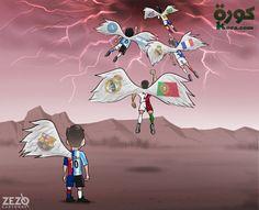ZEZO CARTOONS (@ZEZO_CARTOONS)   Twitter Neymar, Messi, Ways To Be Happier, Football Pictures, Dragon Ball Z, Moose Art, Instagram Posts, Anime, Breathe