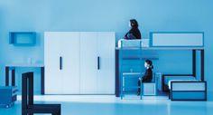 Life box 03. Dormitorio juvenil con litera con plataforma