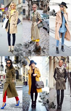 We Fashion Trends Como usar trench coat no inverno
