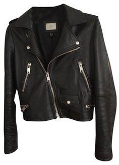 fb38ed0df9 Mango Black Perfecto Jacket Size 4 (S). Tradesy