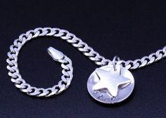 Silver Star Bracelet Sterling Silver by BelindaCarmichaelSJ, $53.00 #pcfteam