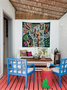 Tecidos e tapetes nas paredes: Cabeceiras a jato!