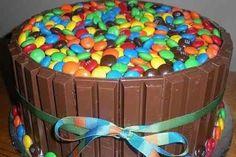 Gâteau M&Ms
