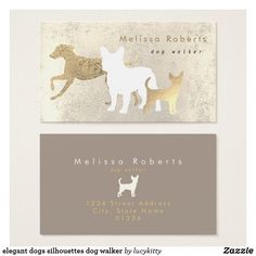 Shop elegant dogs silhouettes dog walker business card created by lucykitty. Dog Training Methods, Basic Dog Training, Dog Training Techniques, Training Your Puppy, Training Dogs, Pet Sitter, Puppy Obedience Training, Positive Dog Training, Bussiness Card