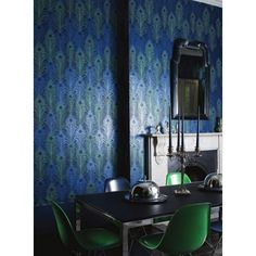 Matthew Williamson Peacock - Next Day Delivery | Designer Wallpapers™