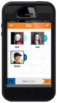 Using the 1st Day app and website parents can snap, organize and share photos of those milestone moments.