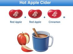 Hot Apple Cider Jelly Belly Flavor Recipe Fun Recipes, Candy Recipes, Jelly Belly Flavors, Belly Belly, Hot Apple Cider, Ice Cream Cookies, Japanese Snacks, Best Candy