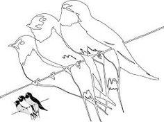 Imagini pentru desene cu pasari calatoare A4, Education, Google, Onderwijs, Learning