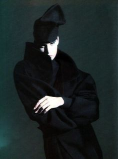 Claude Montana, American Vogue, September 1985. Photography by Paolo Roversi.
