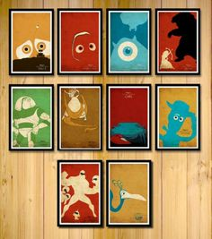 The Coolest Disney-Pixar Posters for Kids