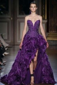 Once again, couture looks to the Far East for inspiration. Zuhair Murad Fall/Winter couture collection was inspired by the Chinese Empress Dresses Short, Prom Dresses, Wedding Dresses, Bridesmaid Gowns, Dresses 2016, Wedding Veils, Dress Prom, Ball Dresses, Evening Dress Long