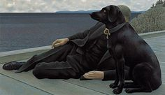 Alex Colville remembered as great painter, father