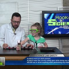"""Have you ever wanted to create your own light bulb? Jason Lindsey aka """"Mr. Science"""" with Hooked on Science and a kid scientist show us how to use a few ingredients from around the house to engineer a the toilet paper tube light bulb. Go to http://www.hookedonscience.org/nextgenerationsciencestandards.html for the NGSS experiment guide"""