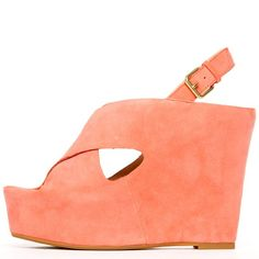 Dolce Vita 'Julie' Sandal, melon kid suede at ashburyskies.com