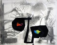 Szirtes János: A költség / The Expense 1988 – 115x145 cm  akril, szén, vászon l acrylic and charcoal on canvas Reusable Tote Bags