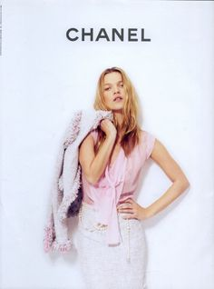 chanel + kate moss