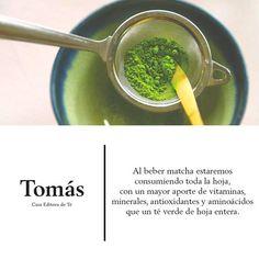 Beber matcha te trae muchos beneficios, tómate el tuyo en @TomasTeMX #Anatole13.