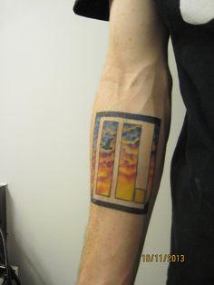 My letlive. band logo tattoo.ll.iferll.ove Done at Sol Tribe... #tattoo #tattoos #inked #bodyart