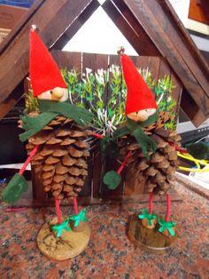 decoração com pinha