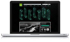 Spotify Website Skin by Kris G, via Behance