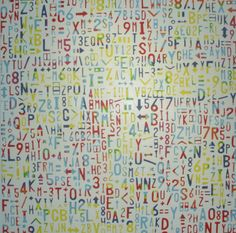 Numbers, 160cm x 160cm, For more information please contact REDSEA Gallery on (07) 3162 2230 © Patrick Hoban