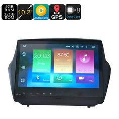 Buy Wallmart.win Hyundai Ix35 10.2 Inch Display 4+32gb One Din Car Media Player For Android 8 Octa-core 3g 4g Gps B: Vendor: CNV Type: Car…
