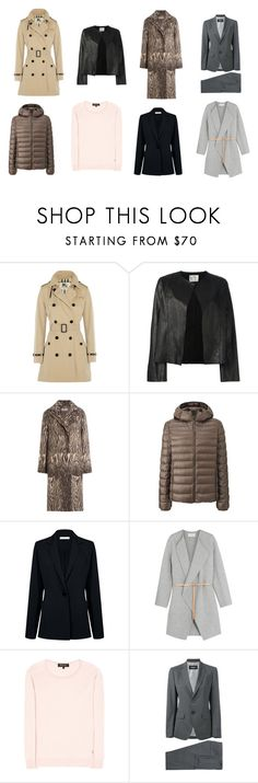 """""""casacos"""" by drimachado on Polyvore featuring moda, Burberry, Forte Forte, Alberta Ferretti, Uniqlo, Atea Oceanie, Vanessa Bruno, Loro Piana e Dsquared2"""