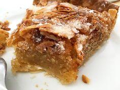 Make Ahead Desserts, Delicious Desserts, Tart Recipes, Cooking Recipes, Almond Tart Recipe, My Dessert, Italian Desserts, Almond Cakes, Desert Recipes