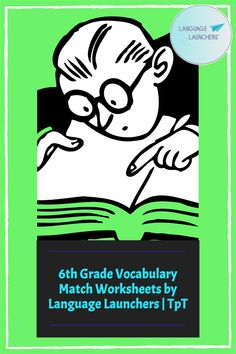 Vocabulary matching worksheets for 70 6th grade vocabulary words Vocabulary Builder, Teaching Vocabulary, Vocabulary Words, School Age Activities, Fun Activities, Verbal Communication Skills, Hearing Impairment, Matching Worksheets, English Language Learners