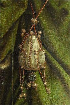 British (English) School A Girl in a Green Dress