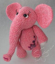 Cute amigurumi : Hollands Olifantje, #haken, gratis patroon, olifant, knuffel, speelgoed, #haakpatroon