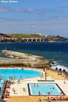 Santa Cruz beach, Madeira Island - Portugal