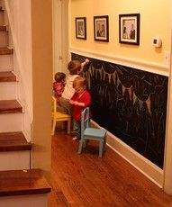 a whole wall in a play room?