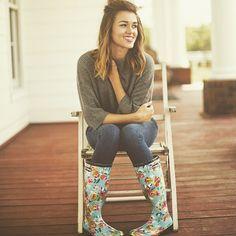sadie robertson roma rain boot collection - Google Search