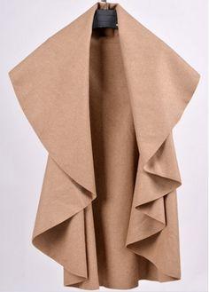 Light Tan Turndown Collar Trench Coat on sale only US$21.62 now, buy cheap Light Tan Turndown Collar Trench Coat at modlily.com