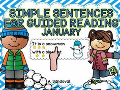 Browse over 460 educational resources created by Angelica Sandoval in the official Teachers Pay Teachers store. First Grade, Grade 1, Ell Students, Simple Sentences, Winter Theme, Guided Reading, Fun Learning, January, English