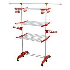 49,99€ -- Tendedero vertical de gran capacidad desmontable TendoSpazio.  El tendedero TendoSpazio es la revolución del tendido a través del tendedero vertical. Es es ligero, plegable y desmontable, ahorra tiempo y esfuerzo a la hora de planchar, ocupando muy poco espacio. Shoe Rack, Shopping, Ideas, Clothes Line, Planks, Innovative Products, Space, Kitchens, Home
